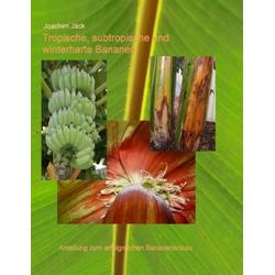 Tropische subtropische und winterharte Bananen als Buch von Joachim Jäck