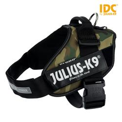 Julius-K9 IDC Powergeschirr camouflage, Größe: 0 / M-L