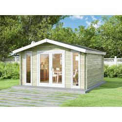 Alpholz Gartenhaus Mirko Modern, mit Imprägnierung
