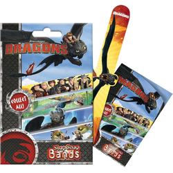 CRAZE Armband 6in1 Set Mini Slap-Snap-Bands - Dragons