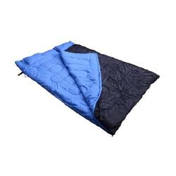 Outsunny Schlafsack Doppelschlafsack mit Kissen