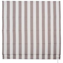 Raffrollo, Liedeco, mit Klettband, freihängend weiß 60 cm x 190 cm