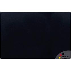 matches21 HOME & HOBBY Schreibtischplatte Schreibtischunterlage Upcycling Leder schwarz Tischunterlage 60x40 cm