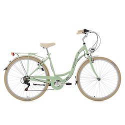 Damenfahrrad Cityrad 28'' Casino mintgrün 6Gänge RH48cm KSCycling