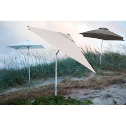 Jan Kurtz Elba / 200 x 200 cm Natur - Sonnenschirm