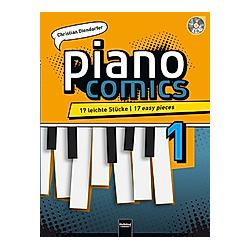 piano Comics  m. Audio-CD. Christian Diendorfer  - Buch