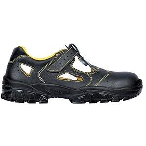 Cofra Sicherheitsschuh DON Sandale S1 schwraz/gelb