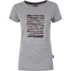 Pally´Hi Rose Bonding Women T-Shirt heather grey