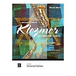 Klezmer Saxophone Duets für 2 Saxophone (Alt- und Tenorsaxophon)  Spielpartitur - Buch