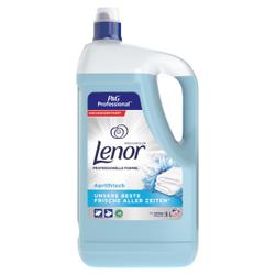 P&G Professional Lenor Weichspüler Aprilfrisch, Wäschepflege für langanhaltende Frische , 5 Liter - Flasche