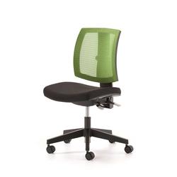 Bürostuhl in Grün Schwarz Netzrücken