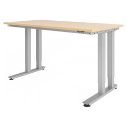 RINO 16 S | 160x80 | Schwerlast-Tisch - Ahorn