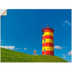 Artland Wandbild Pilsumer Leuchtturm, Gebäude (1 Stück) 40 cm x 30 cm