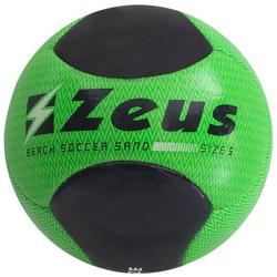 Zeus Beach Soccer Piłka do piłki nożnej Neon Green Black - Rozmiar: 5