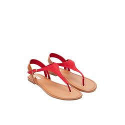 Zehentrenner-Sandalen Damen Größe: 38