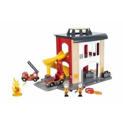 Groe Feuerwehr-Station mit E