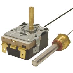 Thermostat Emerson Typ 716R, 16A - 380V, Kapillarrohr 1550mm, Gewinde: 3/8 Zoll AG, Spannung: 380 V - 16 A, Typ: 716R-8654, Schaltbereich: 30 - 150 °C, Kapillarrohr: 1550 mm