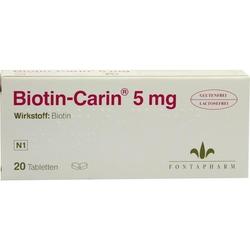 Biotin-Carin 5 mg Lactose-Glutenfrei