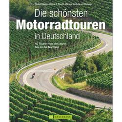 40 Motorradtouren in Deutschland