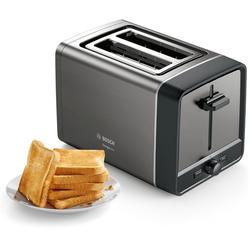 Toaster »TAT5P425 DesignLine«, 970 Watt, Toaster, 29092741-0 grau grau