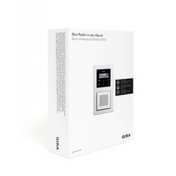Gira 2400100, UP-Radio RDS Verkaufspaket DE