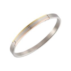 Boccia Armreif 03005-02, teil-goldplattiert, teil-roségoldplattiert, Titanium