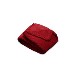 """Kuscheldecke """"TAVI"""" 130 x 160 cm, red"""