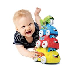 Clementoni® Stapelspielzeug Baby - Stapelautos