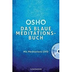 Das blaue Meditationsbuch  m. Meditations-DVD. Osho  - Buch
