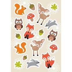 HERMA 15041 10x Sticker DECOR Waldlieblinge