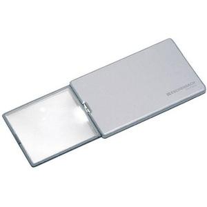 Eschenbach 152111 Easy Pocket Handlupe mit LED-Beleuchtung Vergrößerungsfaktor: 3 x