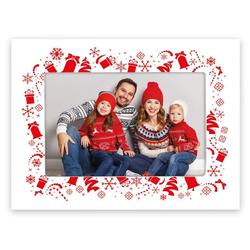 matches21 HOME & HOBBY Bilderrahmen Bilderrahmen mit Weihnachtsmotiv, (1 Stück)