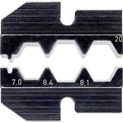 Knipex 97 49 20 Crimpeinsatz F-Stecker, TV- und Satellitenanschluss Passend für Marke Knipex 97 43