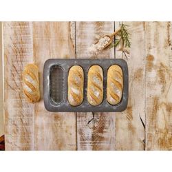 Birkmann Backform Backform für 4 Mini-Baguettes