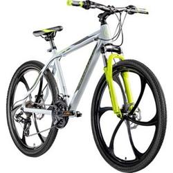"Galano Blast 26 Zoll MTB Hardtail Mountainbike Fahrrad 26"" Rad 21 Gang Bike... 46 cm, grau/grün"