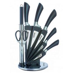 Cheffinger Messerblock Messer Kochmesser Messerständer Messerset 8-tlg. Cheffinger CF-KS03