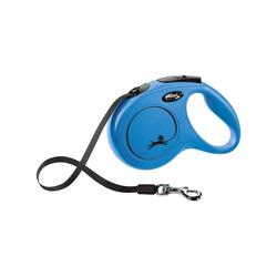 flexi Flexileine NEW CLASSIC Gurt, Kunststoff blau M - 4 cm x 5 m