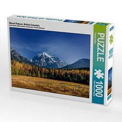 Mount Robson, British Columbia Lege-Größe 64 x 48 cm Foto-Puzzle Bild von Thomas Gerber Puzzle
