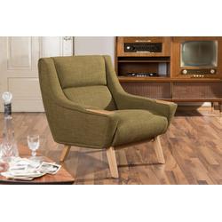 Max Winzer® Sessel Heddy, mit Ablagen aus Holz