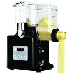 C3 Nudelmaschine, C3 Basta Pasta Nudelmaschine vollautomatisch Maschine Pastamaker Nudeln schwarz