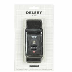 Delsey Accessoires TSA Kofferriem II 6 cm schwarz