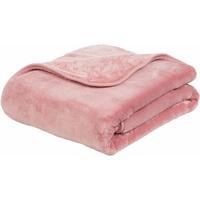 GÖZZE Wohndecke »Josefine«, Gözze, mit premium Cashmere Feeling rosa 220 cm x 240 cm
