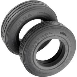 Veroma 1:16 LKW Reifen 19mm Straßenprofil 2St.