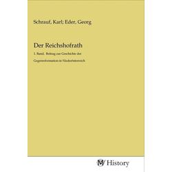 Der Reichshofrath als Buch von