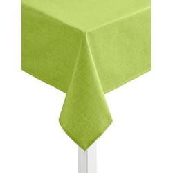 Tischdecke grün oval - 140 cm x 190 cm