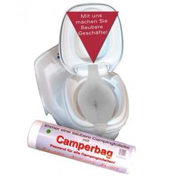 WC-Camperbag Toiletteneinlage 100er Pack