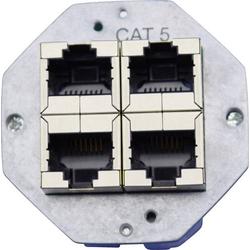 KOMOS KDD 500 Netzwerkdose Einbau Einsatz CAT 5