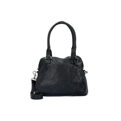 Cowboysbag Schultertasche Bag CarfinBag Carfin, Leder schwarz