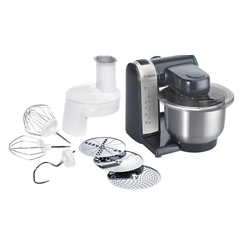 Bosch MUM48A1 Küchenmaschine, schwarz-silber