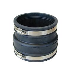 RUG Verbinder Rohrverbinder Gummi Rohrmuffe Gummimuffe Flexmuffe Rohr Muffe Reduziermuffe 100-115 auf 121-136, (1-St), witterungs- und UV-Licht-beständig